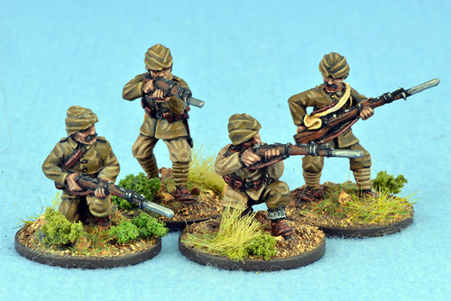 TURK04 Turkish Riflemen (4)