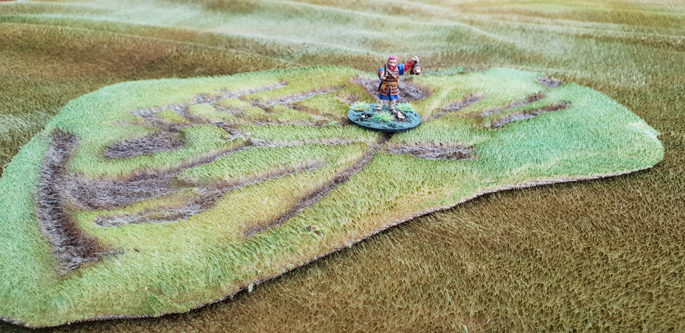 Total Scenery Battle Rug Rough Terrain (1 x 30cm)