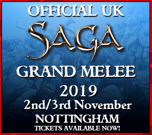 UK Official SAGA Grand Melee 2019 Player's Ticket