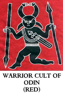 Warrior Cult of Odin T-Shirt (Red) (1)